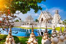 White Temple In Chiang Rai.Sce...