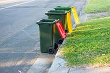 Australian Garbage Wheelie Bin...