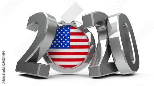 Valokuvatapetti Election USA 2020