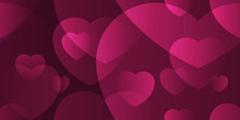 Heart Abstract Background Tran...