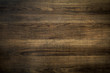 canvas print picture - Old brown wooden texture background