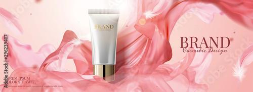 Fotografiet Skincare product banner ads