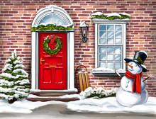 Christmas Home Decoration, Chr...