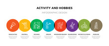 8 Colorful Activity And Hobbie...