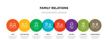 8 Colorful Family Relations Ou...