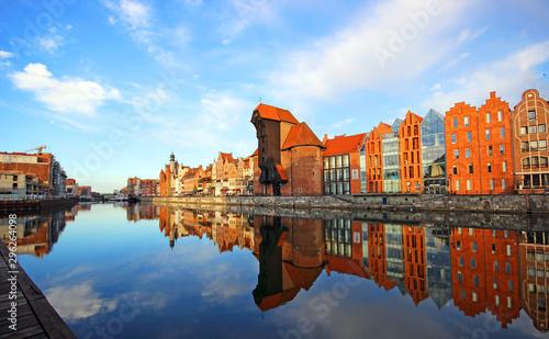 Gdansk old town at sunrise. Gdansk. Poland © zbg2