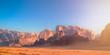 Wadi Rum - Jebel Umm Al Ishrin by Morning Golden Hour