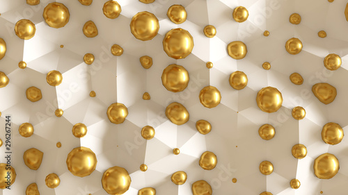 Naklejki abstrakcyjne  interior-pattern-architectural-background-3d-illustration-3d-rendering