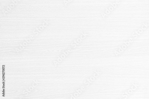 Fotomural  Table top view of wood texture in white light natural color background