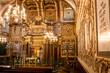 Leinwanddruck Bild - Indoor view of the synagogue of Casale Monferrato, Piedmont