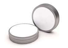 Round Tin Tube Cosmetic Mockup