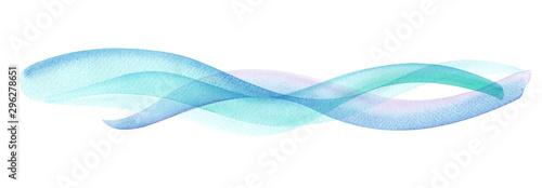 Obraz 透明な水、爽やかな風の抽象イメージ - fototapety do salonu
