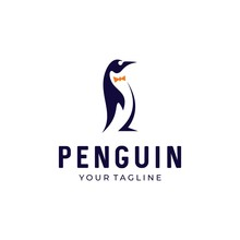 Penguin Vector Logo Icon Symbo...