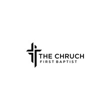 Church Logo Sign Modern Vector...