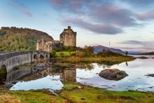 Sunrise At Eilean Donan Castle