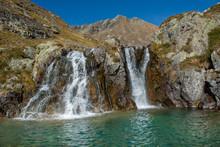 Cascade, Waterfall, Clear, Dri...