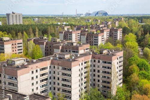 fototapeta na ścianę Pripyat city in Chernobyl