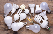 Different Kinds Of Light Bulbs...