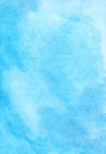 Watercolor Light Blue Backgrou...