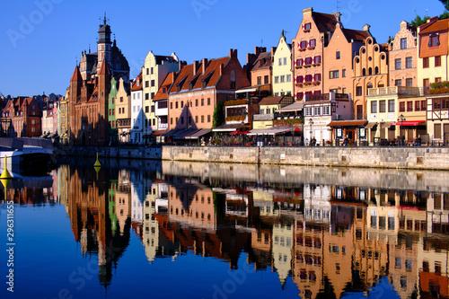 Autocollant pour porte Europe de l Est Impressions from Gdańsk (Danzig in German) a port city on the Baltic coast of Poland