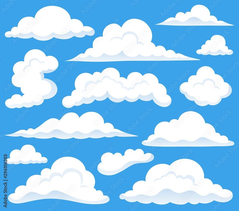 Obraz tematu chmur 1 <span>plik: #296316203 | autor: Klara Viskova</span>