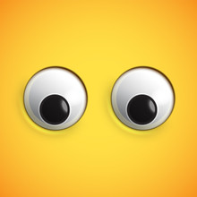 Yellow High-detailed Emoticon ...