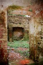 Backyard Of A Ruined House At Panam Nagar