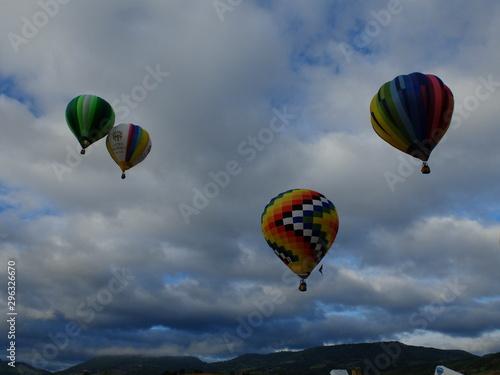 De Boudes à Chalus en montgolfière (Auvergne) - 296326670