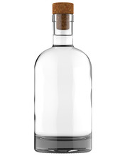 Clear White Glass Whiskey, Vod...
