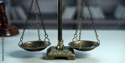 Fotografie, Obraz  Scale of justice