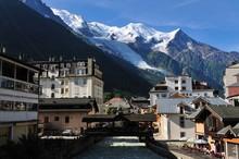 Mont Blanc Depuis Chamonix