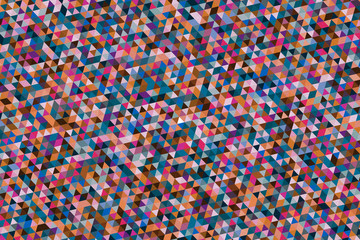 Color geometric background....