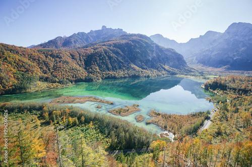 Photo Blick auf Almsee - Panorama
