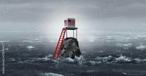Fotografía  United States Vote Problem