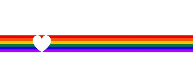 LGBT flag . Symbol lesbian, gay, bisexual, transgender rainbow flag. Poster, card, banner, background