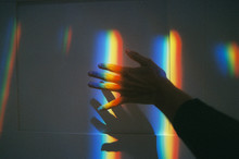 Projection Of Multicolored Lig...