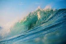 Wave Crashing On The Coast
