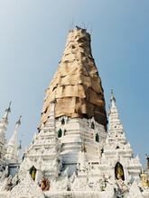 Construction Of Shwedagon Pagoda
