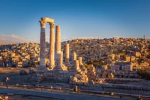 The Temple Of Hercules, Amman ...