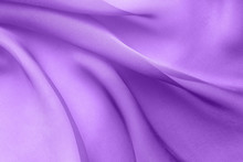 Lilac Fabric With Large Folds,...