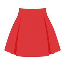 Skirt Vector Pink Realistic Ve...