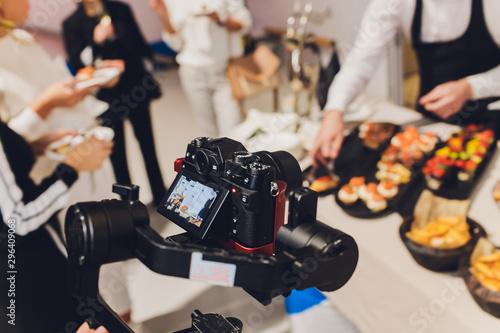 Fényképezés Camera Gimbal DSLR Video Production