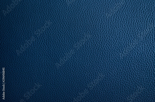 Pinturas sobre lienzo  Leather texture. Blue fashionable background. Stylish wallpaper