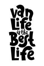 Van Life Lettering