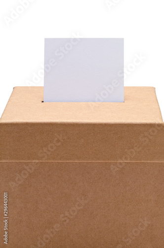 Fotografie, Tablou Ballot Box Close Up