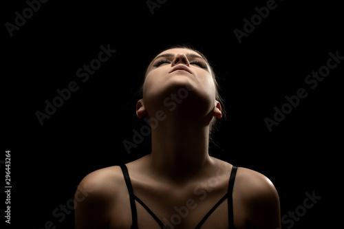 Fotomural  sensual beautiful woman