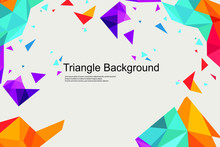 Triangle Background Elegant Ep...
