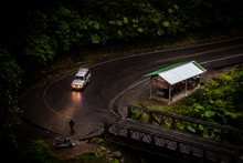 Road On A Rainy Day In Costa Rica