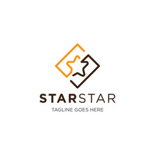 Star Logo And Icon Vector Illu...