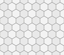 Abstract Seamless Pattern, Whi...